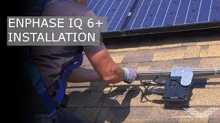 Enphase IQ 6+ Microinverter Installation | RENVU