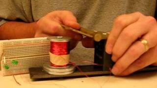 Permanent magnet generator with no relative motion between magnet and coil