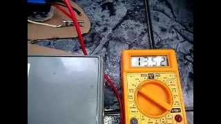 My green power solar charge joule thief