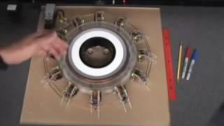 SEG, Searl Effect Generator - How it works: Electrons Flow with Magnetic Current