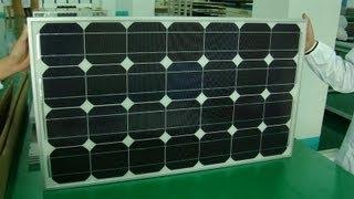 Solar Factory in China Trip