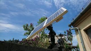 DIY Napelem forgató / solar tracker