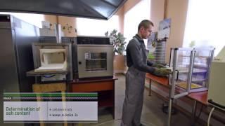 Solid biofuel testing