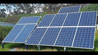 Off Grid Solar Power - Solar Electric Hot Water - Part One