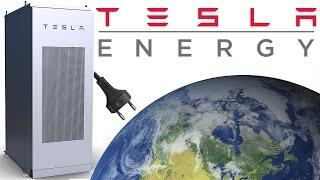 Tesla Energy is Getting Serious - A Battery powered World?