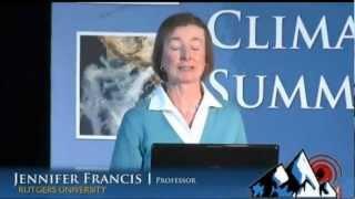 Climate Change and Extreme Weather: Prof. Jennifer Francis (2013)
