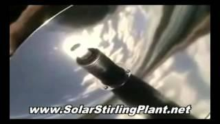 SOLAR STIRLING MOTOR and GENERATOR - How to Make Inexpensive DIY SOLAR STIRLING Electricity