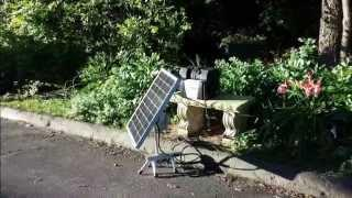 Mobile Sun Tracking Solar Power Plant