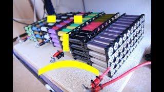 DIY Lithium Powerwall - Die Katastrophe - Alle Batterien reinigen und neu verpacken