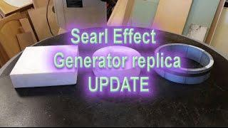 Searl Effect Generator replica UPDATE