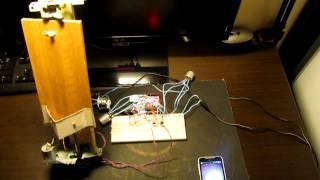 Mini solar tracking system