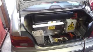 BMW E39 EV Conversion 48 More DC Fast Charging