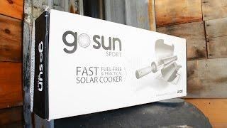 GoSun Sport Stove Unboxing - Solar Cooking with a Solar Oven