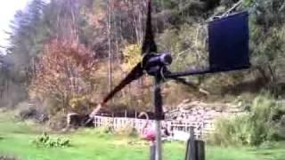 diy wind generator test