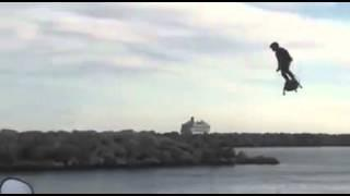 "Flyboard Air ""UFO"" Zapata Racing  Personal Flight Platform Demo Hover-Board Flying Skateboard"