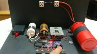 Plasmaklavier Plasma Piano singing HV arc with Arduino