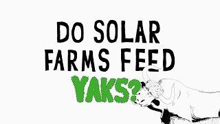 Earth Day 2017 —Do solar farms feed yaks? — Apple