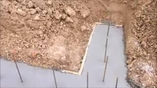 Off Grid Living: Weekly Update #10 Footings are Poured for the Barn House