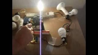 Emergency off-grid lighting.How to make a High power joule thief.* 9 watt?