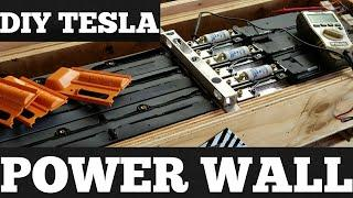 DIY Tesla Powerwall - Solar storage 18650 lithium ion home Battery