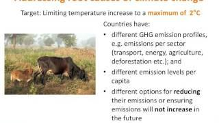 Introduction to climate change and agriculture – Kaisa Karttunen