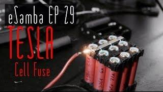 TESLA style battery cell Fuses 18650 DIY EV - eSamba