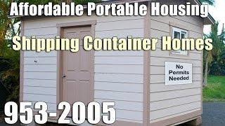 Shipping Container Homes in Hawaii | 808-953-2005 | Hawaii Shipping Container Home