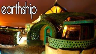 Earthship Natural House Tour in Taos New Mexico (Off Grid)