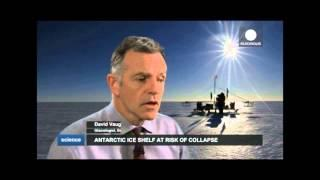 Antarctica: Largest ice shelf melting fast from above and below