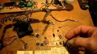 Joule Thief: Tutorial: Basic JT Made From Recycled TV Parts