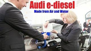 Audi e-diesel: Audi has successfully made Diesel fuel from Air and Water