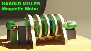 FREE ENERGY, Harold Miller Magnetic Motor