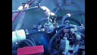 Engine running on a Joe Cell