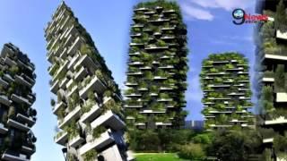 इटली का अजूबा, बिल्डिंग में लगे हजारों पेड़ | Bosco Verticale: World's First Vertical Forest in Milan
