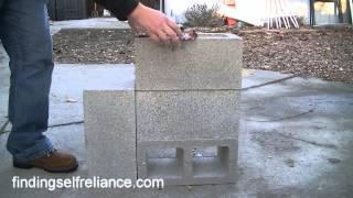 DIY Rocket Stove - Simple Homemade Rocket Stove