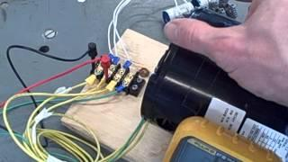 Self excited induction generator (part 1)
