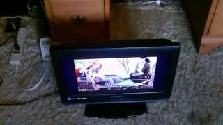 Solar Powered TV - powered by DIY solar power system - easy to make