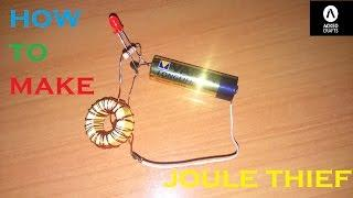 HOW TO MAKE JOULE THIEF
