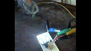Ferrite Core Joule Thief vs Air Core Joule Thief