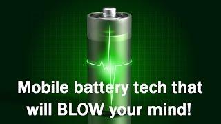 Top 5 upcoming smartphone battery tech