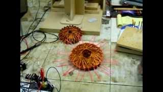 Star Coils Self Oscillating Bedini SSG Circuit Battery Charger