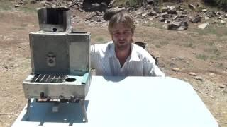 "How to make the ultimate camp ""Cooking Stove""!"
