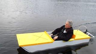 Sparky, a DIY electric boat