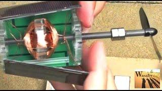 Free Energy Magnet Motor (free electricity, no water, no wind energy, no battery)  | WasabySajado
