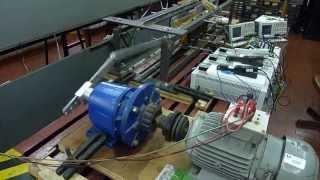 Prototype of a Linear Generator - Protótipo de um Gerador Linear.