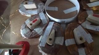 160 volt coils for DIY wind turbine.