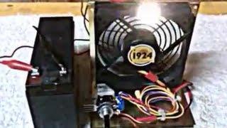 Bedini Cooling Fan Motor!