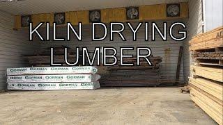 Kiln Drying Lumber