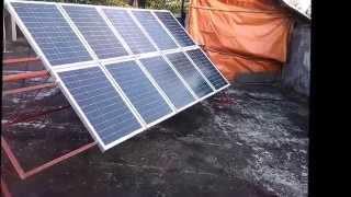 Homemade Solar Panel Rack Solar tracker Philippines