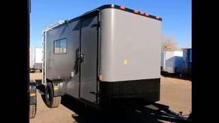 New Cargo Craft 6x14 Off Road Trailer - insulated, power, A/C